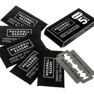 Rockwell Razors Stainless Steel DE Razor Blades