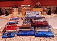 Gillette 1947-1955 Super Speed Razors, Cases, and Razor Blade Dispensers.JPG