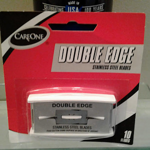 CareOne Double Edge Stainless Steel Blades