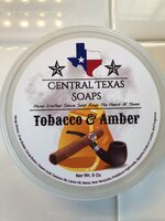 Central Texas Soaps - Tobacco & Amber