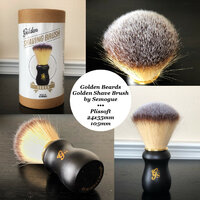 Golden Shave - Silvertip