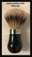 Uomo da Vinci 290 Silvertip Brush