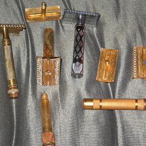 Gillette NEW razors disassembled