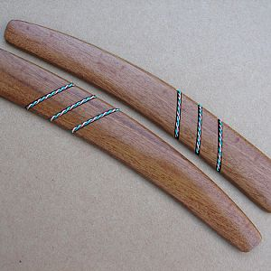 Mopani and twisted anodized wire