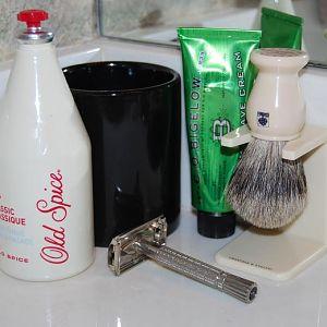 shave set up