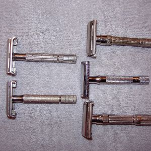 Gillette's and one Merkur