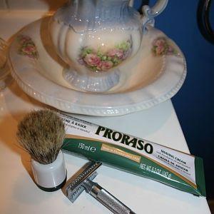 Inherited brush