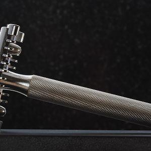 Fatip base plate / Gillette top cap / Gillette handle