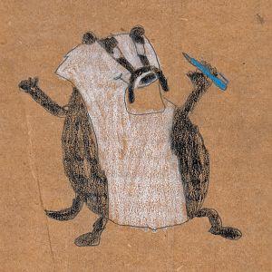 fat badger b b