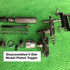 Toggles disassembled by the  Captain