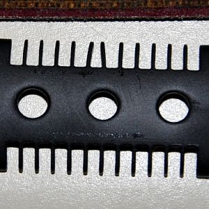 Fatip base plate with bent tines