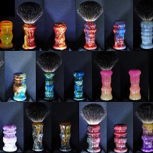 Custom Brush Handles