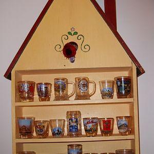 My Shotglass Collection