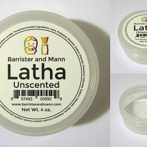 Barrister & Mann Latha Unscented Shaving Soap