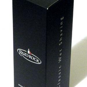 RazoRock BC Silvertip Plissoft Synthetic Shaving Brush - Box