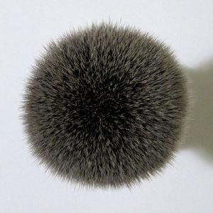 RazoRock BC Silvertip Plissoft Synthetic Shaving Brush - Top View