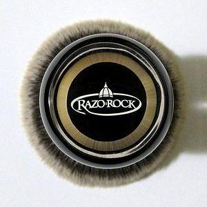 RazoRock BC Silvertip Plissoft Synthetic Shaving Brush - Bottom View