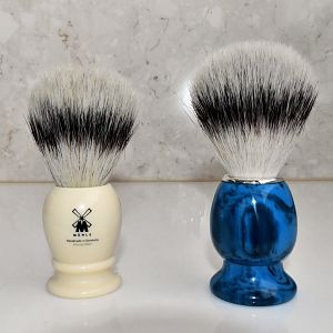 Brushes with Muhle Silvertip Fibre Knots