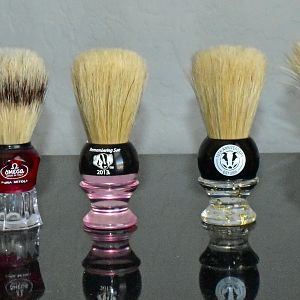 Boar Brushes In Daily Rotation