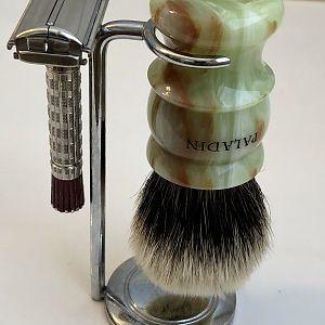 Shaving Brush and Razor Stand