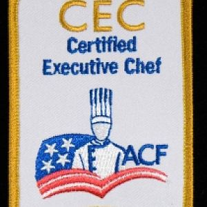 Newer Version of My Certified Executive Chef (CEC [Life-Time]), Patch