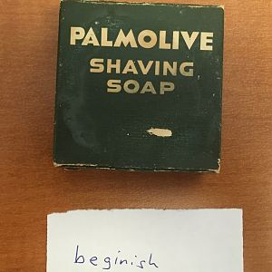 Vintage Palmolive Soap