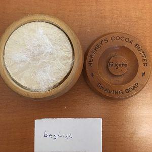 Vintage Hershey's Shave Soap