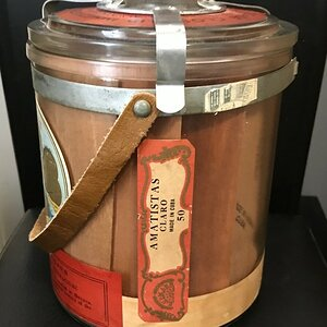 My Upman Cigar Jar